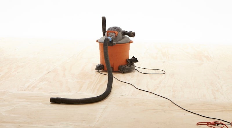 use shop vac as dust collector