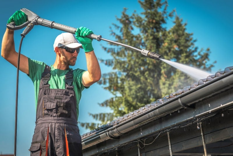 How To Use A Power Washer at home
